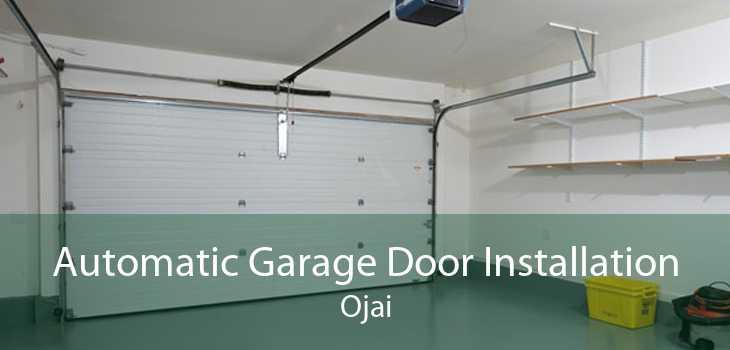 Automatic Garage Door Installation Ojai