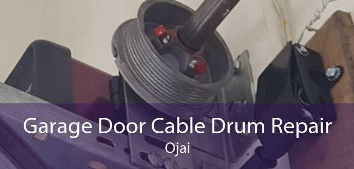 Garage Door Cable Drum Repair Ojai