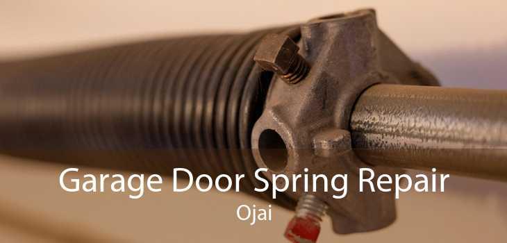 Garage Door Spring Repair Ojai