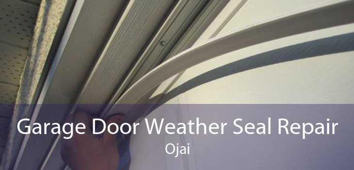Garage Door Weather Seal Repair Ojai