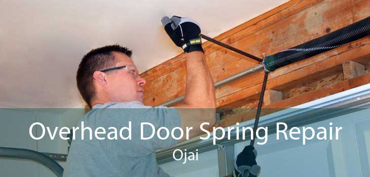 Overhead Door Spring Repair Ojai